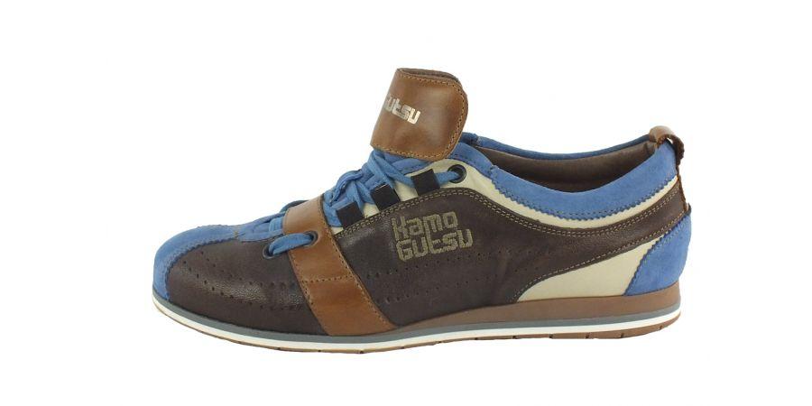 Kamo-Gutsu Damen Sneaker Tifa 002 Avion Caffe Camel