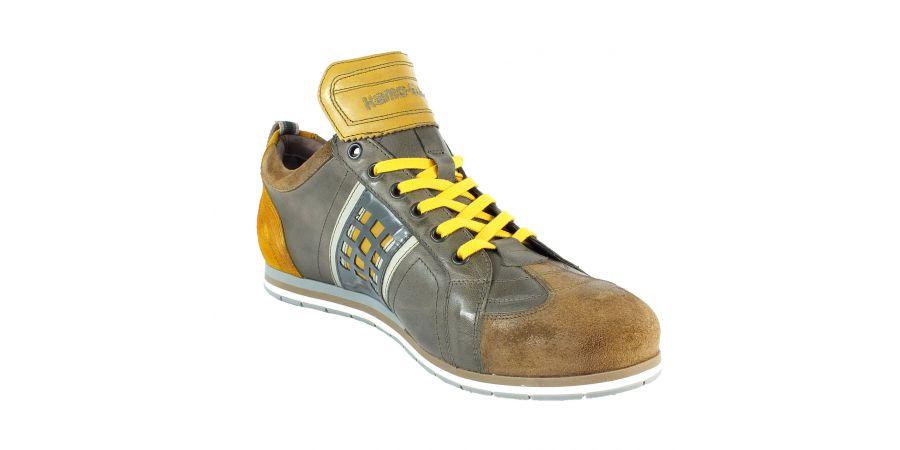 Kamo-Gutsu Herren Sneaker Tifo 032 Camel Fuma Ocra