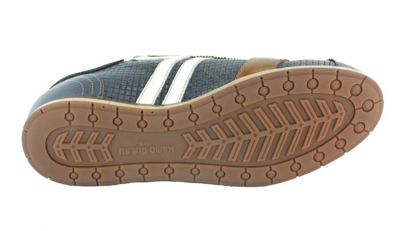 Kamo-Gutsu Herren Sneaker Tifo 030 Blu Combi