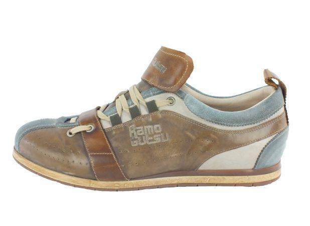 Kamo-Gutsu Herren Sneaker Tifo 017 Cielo Stone Bianco