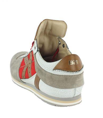 Kamo-Gutsu Herren Sneaker Tifo 040 Crack Rosso