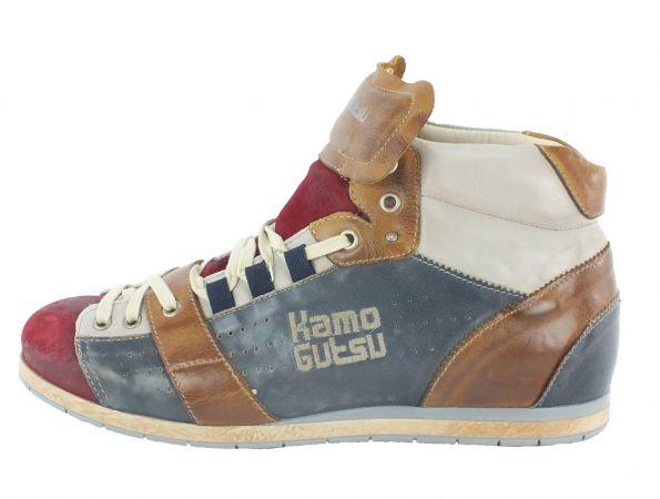 Kamo-Gutsu Herren Sneaker Tifo 105 Sangue Blu Bianco