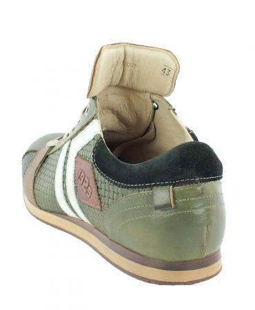 Kamo-Gutsu Herren Sneaker Tifo 030 Verde Combi