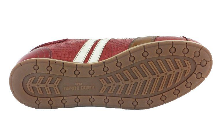 Kamo-Gutsu Herren Sneaker Tifo 030 Rosso Combi