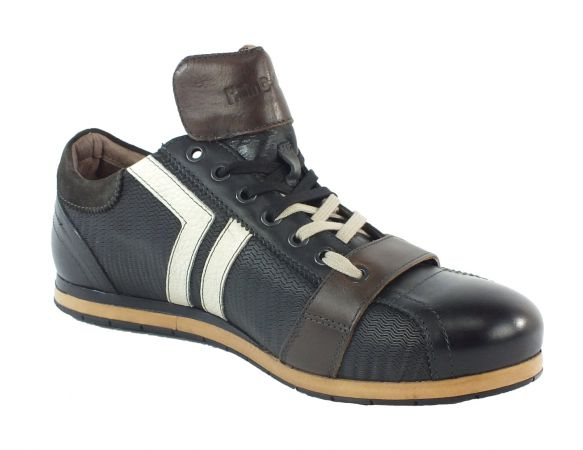 Kamo-Gutsu Herren Sneaker Tifo 030 Onda Nero TDM