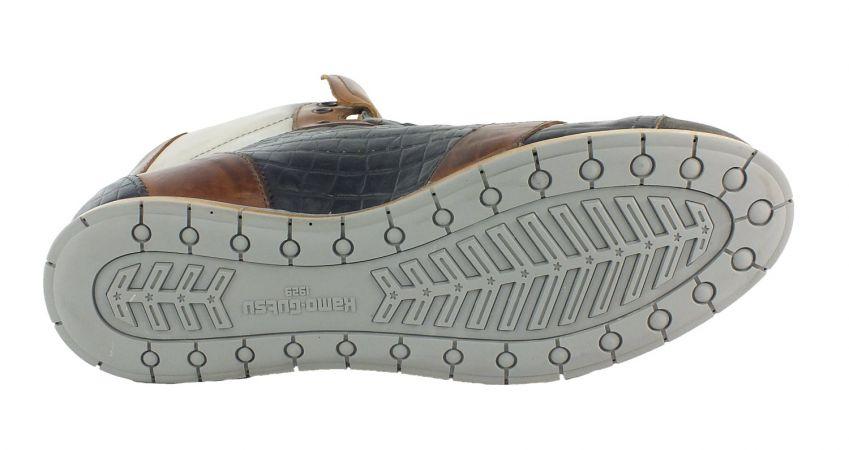 Kamo-Gutsu Herren Sneaker Tifo 105 Smog Cocco Blu
