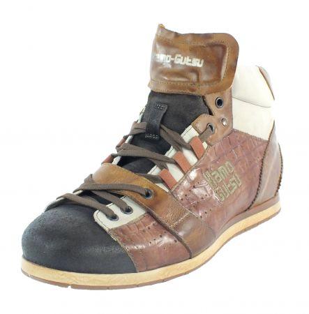 Kamo-Gutsu Herren Sneaker Tifo 105 TDM Cocco Mattone