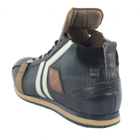 Kamo-Gutsu Herren Sneaker Tifo 130 Onda Blu