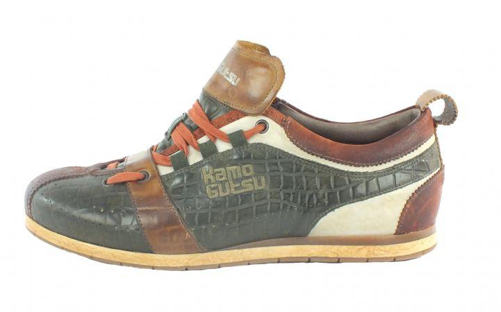 Kamo-Gutsu Herren Sneaker Tifo 017 Mattone Cocco Forest