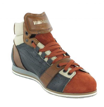 Kamo-Gutsu Damen Sneaker Tifa 100 Cotto Smog Camel