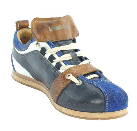 Kamo-Gutsu Herren Sneaker Tifo 036 Acqua Navy Camel