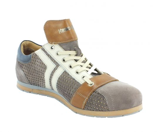 Kamo-Gutsu Herren Sneaker Tifo 030 Orti Taupe