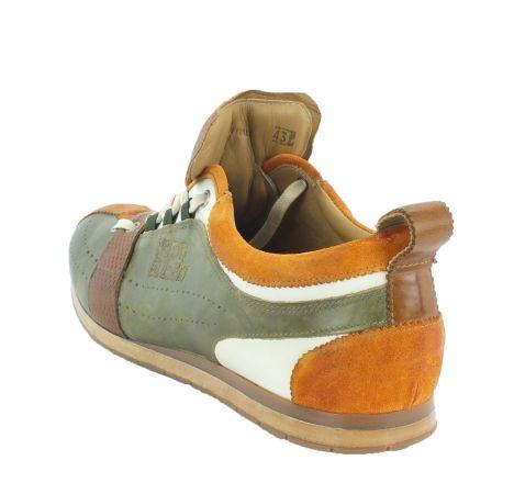 Kamo-Gutsu Herren Sneaker Tifo 036 Arancio Verde Camel