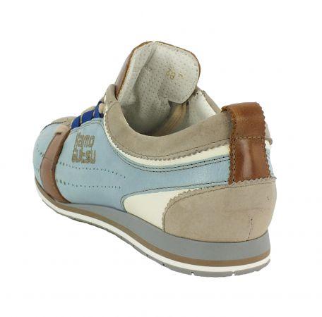 Kamo-Gutsu Damen Sneaker Tifa 002 Tortora Cielo