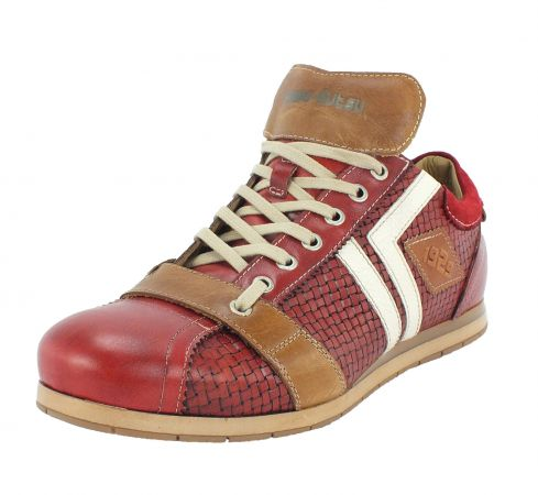 Kamo-Gutsu Herren Sneaker Tifo 030 Yuma Rosso