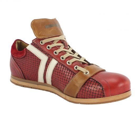Kamo-Gutsu Herren Sneaker Tifo 030 Yuma Rosso