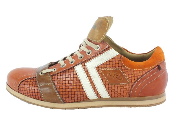 Kamo-Gutsu Herren Sneaker Tifo 030 Yuma Arancio