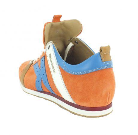 Kamo-Gutsu Herren Sneaker Tifo 042 Arancio Medi