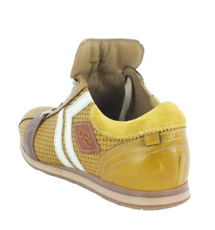 Kamo-Gutsu Herren Sneaker Tifo 030 Yuma Giallo