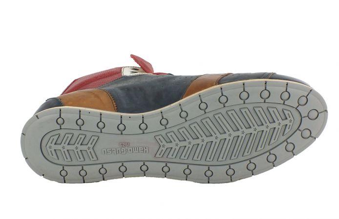 Kamo-Gutsu Herren Sneaker Tifo 104 Navy Vipera Rosso