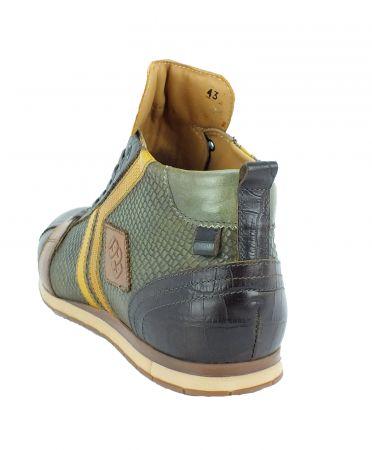 Kamo-Gutsu Herren Sneaker Tifo 130 TDM Kaki Ocra
