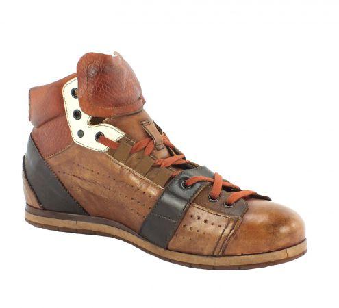 Kamo-Gutsu Herren Sneaker Tifo 104 Cuio Videra Brick