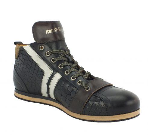 Kamo-Gutsu Herren Sneaker Tifo 130 Croc Nero