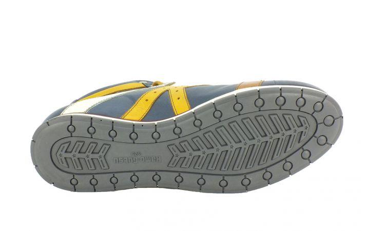 Kamo-Gutsu Herren Sneaker Tifo 142 Jeans Ambra