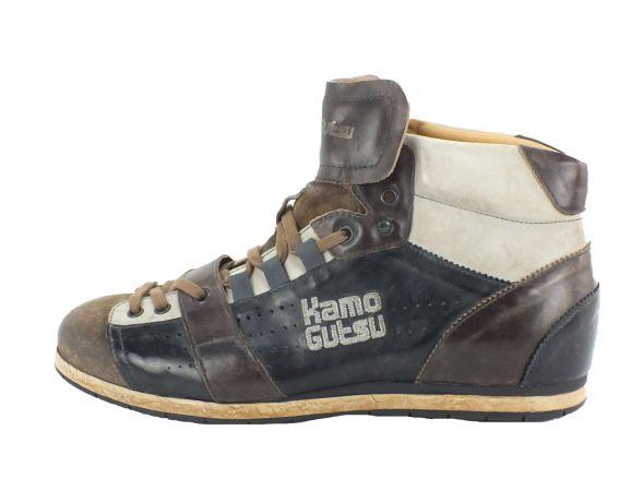 Kamo-Gutsu Herren Sneaker Tifo 105 Sigaro Nero