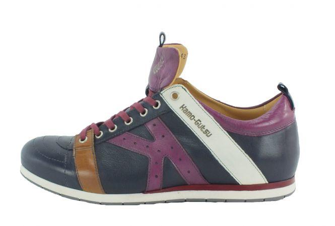Kamo-Gutsu Herren Sneaker Tifo 042 Blu Amarante