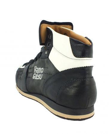 Kamo-Gutsu Damen Sneaker Tifa 100 Parker Nero