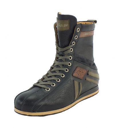 Kamo-Gutsu Damen Sneaker Tifa 106 Nero Bosco