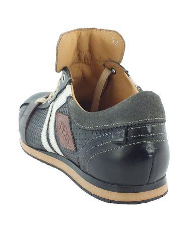 Kamo-Gutsu Herren Sneaker Tifo 030 Yuma Nero