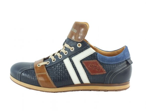 Kamo-Gutsu Herren Sneaker Tifo 030 Yuma Blu