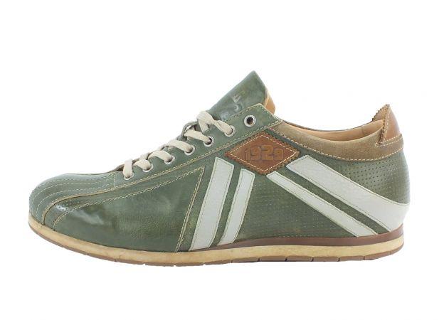 Kamo-Gutsu Herren Sneaker Tifo 047 Verde Combi