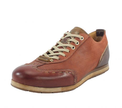Kamo-Gutsu Herren Sneaker Tifo 037 Mattone Taupe