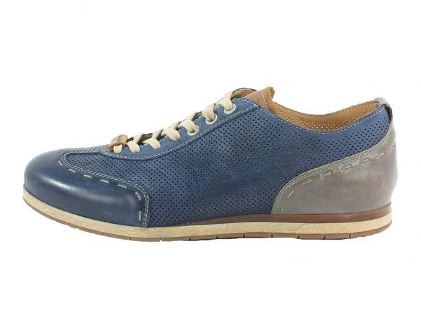 Kamo-Gutsu Herren Sneaker Tifo 037 Blu Grigio