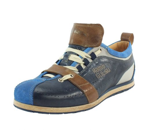 Kamo-Gutsu Herren Sneaker Tifo 017 Aqua Navy