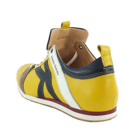 Kamo-Gutsu Herren Sneaker Tifo 042 Tuorlo Nero