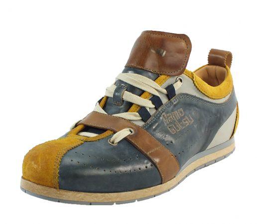 Kamo-Gutsu Herren Sneaker Tifo 017 Ocra Jeans