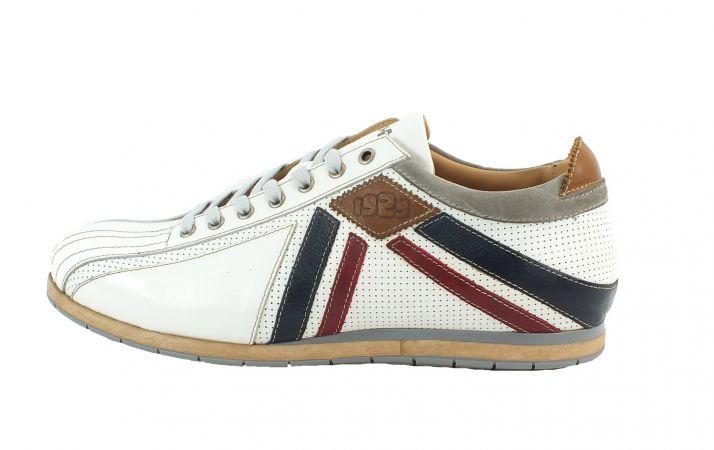 Kamo-Gutsu Herren Sneaker Tifo 047  Bianco Combi