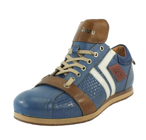 Kamo-Gutsu Herren Sneaker Tifo 030 Royal Combi