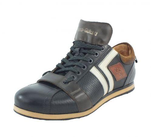 Kamo-Gutsu Herren Sneaker Nero Combi Tifo 030