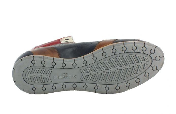 Kamo-Gutsu Herren Sneaker Navy Vipera Rosso Tifo 104