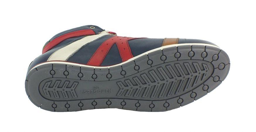 Kamo-Gutsu Herren Sneaker Jeans Papavero Tifo 142