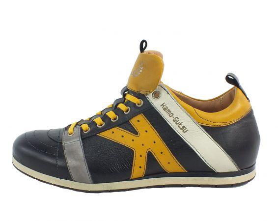 Kamo-Gutsu Herren Sneaker Tifo 042 Black Girasole