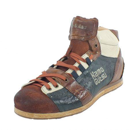 Kamo-Gutsu Herren Sneaker Caramel Notte Tifo 105