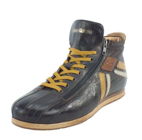 Kamo-Gutsu Herren Sneaker Tifo 145 Caffe Combi