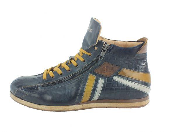 Kamo-Gutsu Herren Sneaker Tifo 145 Blu Lemon
