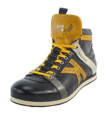 Kamo-Gutsu Herren Sneaker Tifo 142 Black Girasole
